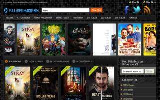 Скриншот сайта fullhdfilmadresim.com
