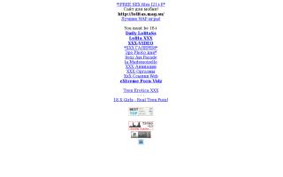 Скриншот сайта lolitas.mag.su